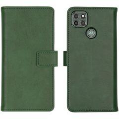 iMoshion Custodia Portafoglio de Luxe Motorola Moto G9 Power - Verde