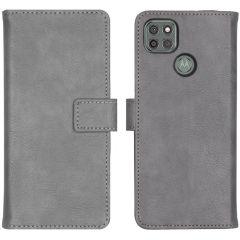 iMoshion Custodia Portafoglio de Luxe Motorola Moto G9 Power - Grigio
