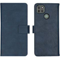 iMoshion Custodia Portafoglio de Luxe Motorola Moto G9 Power - Blu scuro