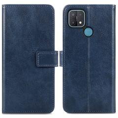 iMoshion Custodia Portafoglio de Luxe Oppo A15 - Blu scuro