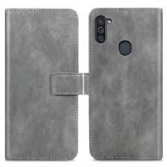 iMoshion Custodia Portafoglio de Luxe Samsung Galaxy M11 / A11 - Grigio