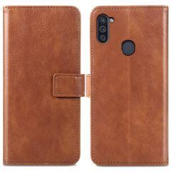 iMoshion Custodia Portafoglio de Luxe Samsung Galaxy M11 / A11 - Marrone