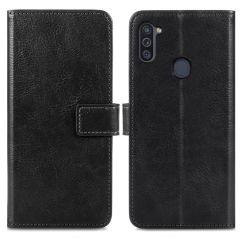 iMoshion Custodia Portafoglio de Luxe Samsung Galaxy M11 / A11 - Nero