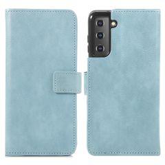 iMoshion Custodia Portafoglio de Luxe Samsung Galaxy S21 Plus - Azzurro