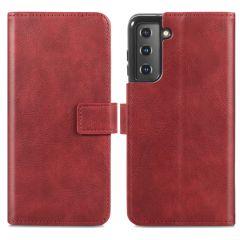 iMoshion Custodia Portafoglio de Luxe Samsung Galaxy S21 Plus - Rosso