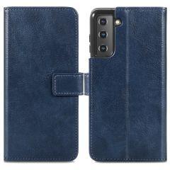 iMoshion Custodia Portafoglio de Luxe Samsung Galaxy S21 Plus - Blu scuro