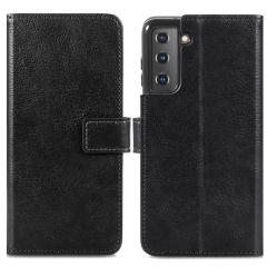 iMoshion Custodia Portafoglio de Luxe Samsung Galaxy S21 Plus - Nero