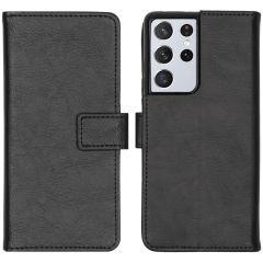 iMoshion Custodia Portafoglio de Luxe Samsung Galaxy S21 Ultra - Nero
