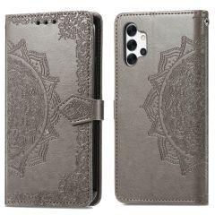 iMoshion Custodia Portafoglio Mandala Samsung Galaxy A32 (5G) - Grigio