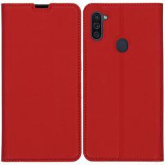iMoshion Custodia a Libro Slim Samsung Galaxy M11 / A11 - Rosso