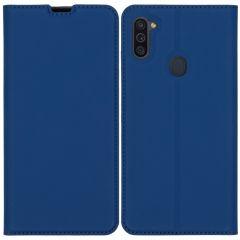 iMoshion Custodia a Libro Slim Samsung Galaxy M11 / A11 - Blu scuro