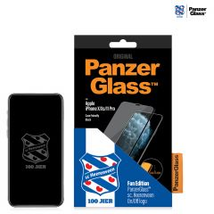 PanzerGlass Heerenveen Pellicola Protettiva Case Friendly iPhone 11 Pro / Xs / X - Nero