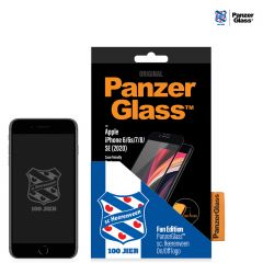 PanzerGlass Heerenveen Pellicola Protettiva Case Friendly iPhone SE (2020) / 8 / 7 / 6(s) - Nero