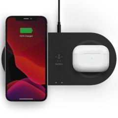 Belkin Tappetino di ricarica doppio wireless Fast Charging - 15W - Nero