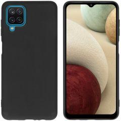 iMoshion Cover Color Samsung Galaxy A12 - Nero