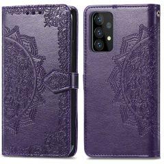 iMoshion Custodia Portafoglio Mandala Samsung Galaxy A72 - Viola