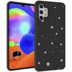 iMoshion Cover Design Samsung Galaxy A32 (5G) - Stars Gold