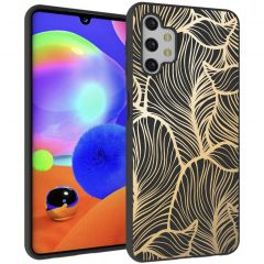 iMoshion Cover Design Samsung Galaxy A32 (5G) - Golden Leaves