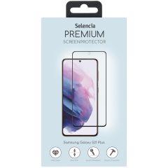 Selencia Pellicola Protettiva Premium in Vetro Temperato Samsung Galaxy S21 Plus - Nero
