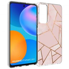 iMoshion Cover Design Huawei P Smart (2021) - Pink Graphic