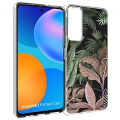 iMoshion Cover Design Huawei P Smart (2021) - Dark Jungle