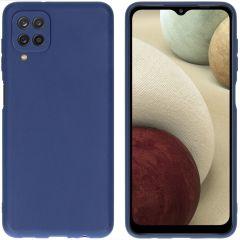iMoshion Cover Color Samsung Galaxy A12 - Blu scuro