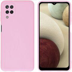 iMoshion Cover Color Samsung Galaxy A12 - Rosa
