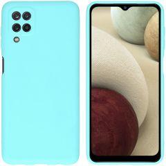iMoshion Cover Color Samsung Galaxy A12 - Verde menta