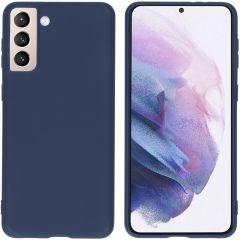 iMoshion Cover Color Samsung Galaxy S21 Plus - Blu scuro