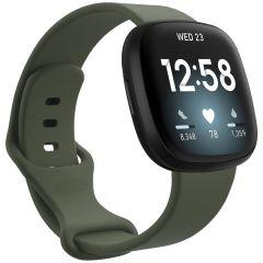 iMoshion Cinturino in Silicone Fitbit Sense / Versa 3 - Verde