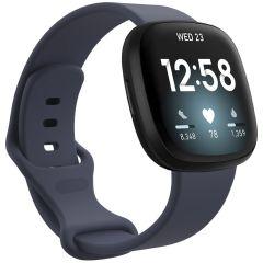 iMoshion Cinturino in Silicone Fitbit Sense / Versa 3 - Blu scuro