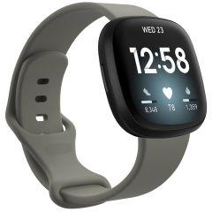 iMoshion Cinturino in Silicone Fitbit Sense / Versa 3 - Grigio scuro