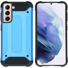 iMoshion Cover Robusta Xtreme Samsung Galaxy S21 - Azzurro