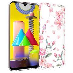 iMoshion Cover Design Samsung Galaxy M31 - Blossom Watercolor