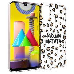iMoshion Cover Design Samsung Galaxy M31 - Hakuna Matata