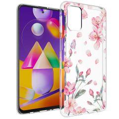 iMoshion Cover Design Samsung Galaxy M31s - Blossom Watercolor
