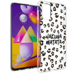 iMoshion Cover Design Samsung Galaxy M31s - Hakuna Matata