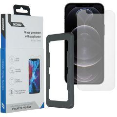 Accezz Pellicola Protettiva in Vetro Temperato + Applicatore iPhone 12 Pro Max