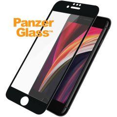 PanzerGlass Pellicola Protettiva Compatibile con la Custodia iPhone SE (2020) - Nero