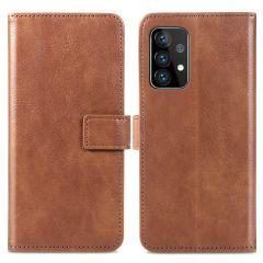 iMoshion Custodia Portafoglio de Luxe Samsung Galaxy A72 - Marrone