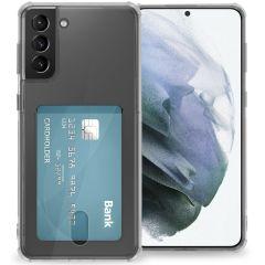 iMoshion Cover Flessibile con Portafoglio Samsung Galaxy S21 Plus - Trasparente