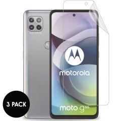 iMoshion Pellicola Protettiva Trasparente 3 Pezzi Motorola Moto G 5G