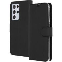 Accezz Custodia Portafoglio Flessibile Samsung Galaxy S21 Ultra - Nero