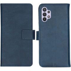 iMoshion Custodia Portafoglio de Luxe Samsung Galaxy A32 (5G) - Blu scuro