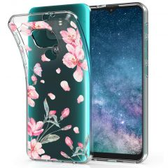 iMoshion Cover Design Motorola Moto E7 Plus / G9 Play - Blossom Watercolor