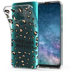 iMoshion Cover Design Motorola Moto E7 Plus / G9 Play - Hakuna Matata