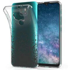 iMoshion Cover Design Motorola Moto E7 Plus / G9 Play - Splatter Black