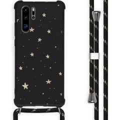 iMoshion Cover Design con Cordino Huawei P30 Pro - Stars Gold