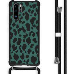 iMoshion Cover Design con Cordino Huawei P30 Pro - Panther Illustration