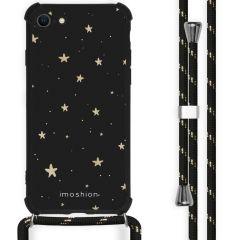 iMoshion Cover Design con Cordino iPhone SE (2020) / 8 / 7 - Stars Gold